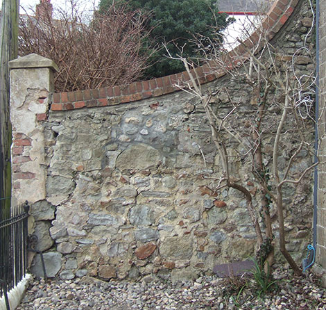 Wall before pointing